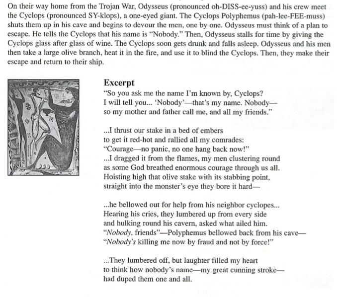 essay on loyalty in the odyssey
