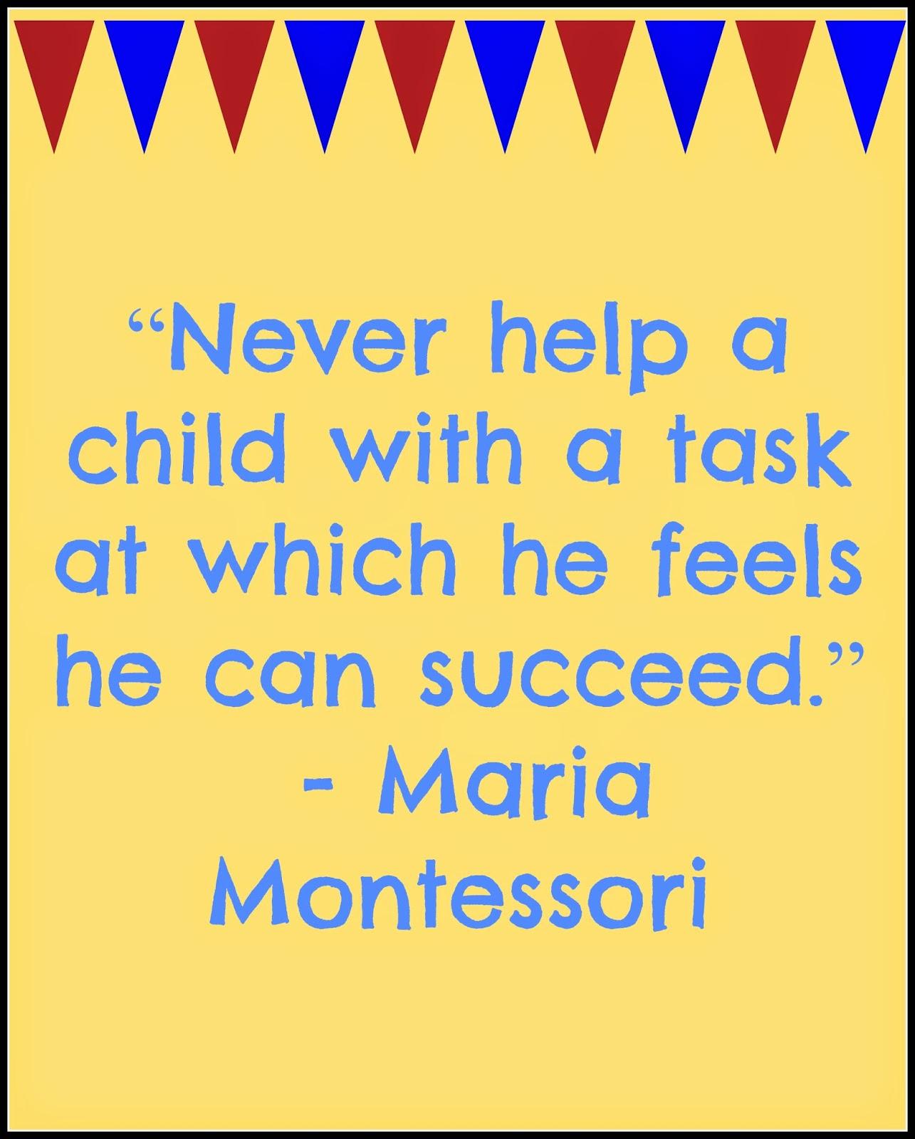 maria montessori language essay