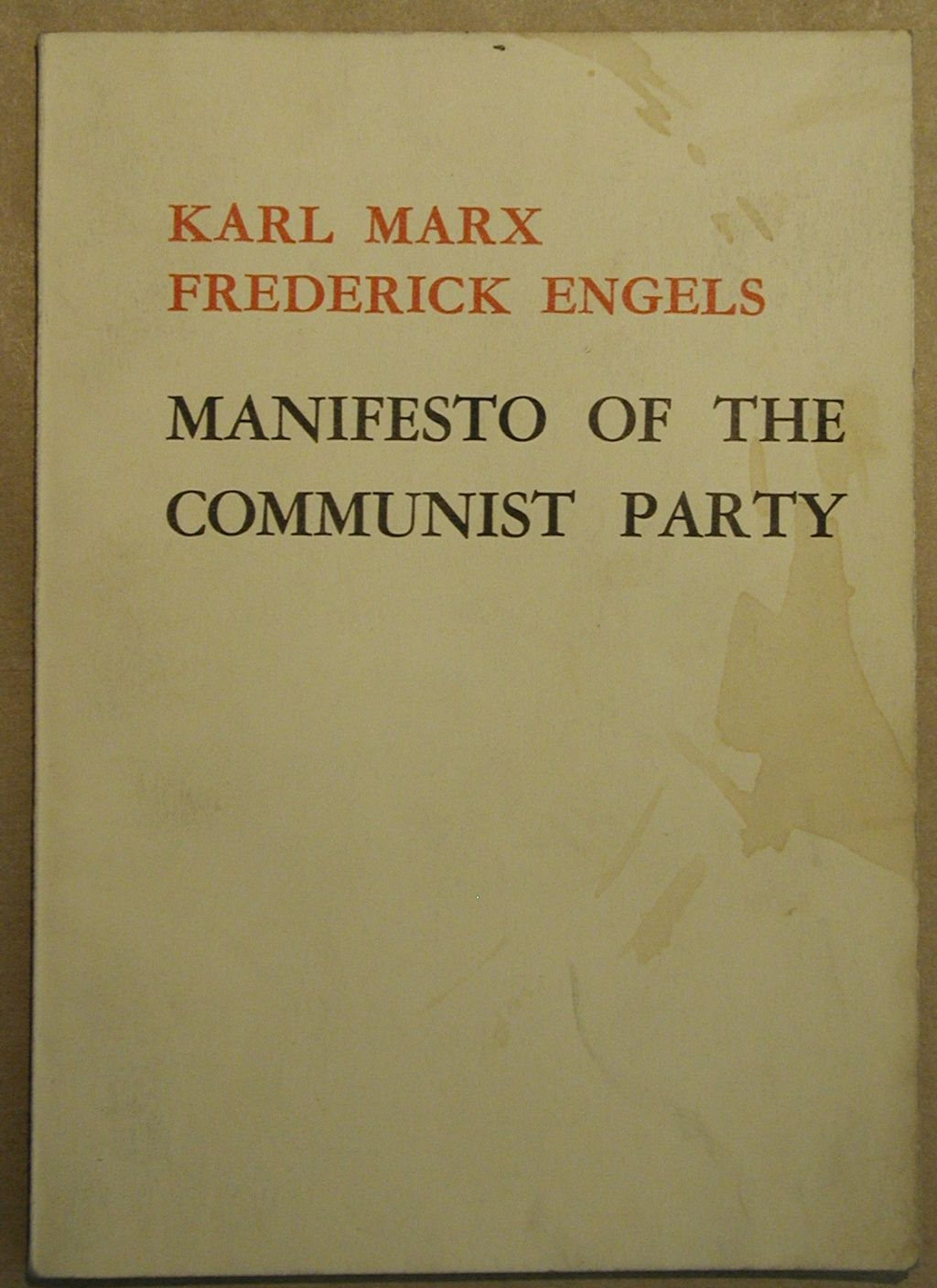 the importance of the manifesto by karl marx The communist manifesto attempts to explain the basic tenets of communism it argues that class struggle has been the driving force of history, and that the sides are determined by the era's means of production a revolution occurs when one side emerges as the ruling one karl marx, the pamphlets.