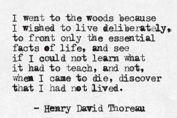 The essays of henry d thoreau