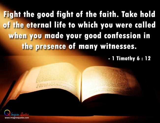 Biblical Quotes Fight. QuotesGram