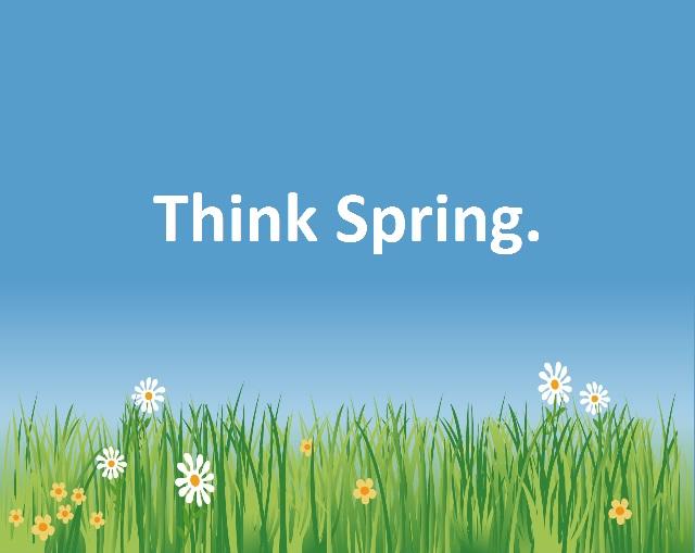Think Spring Quotes. QuotesGram