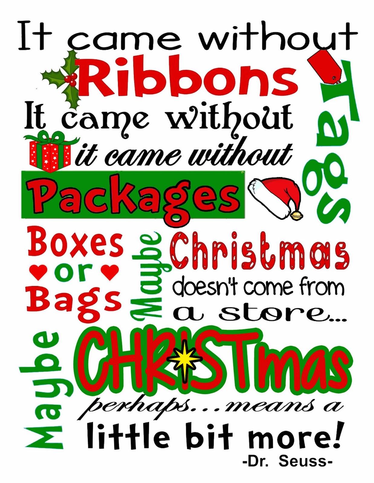Dr Seuss Christmas Quotes. QuotesGram