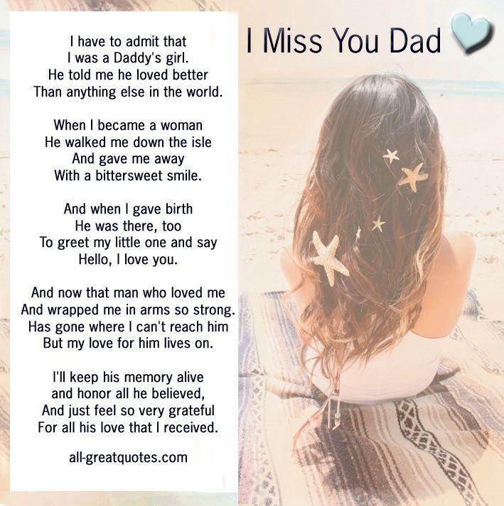 Death Missing You Dad Quotes. QuotesGram