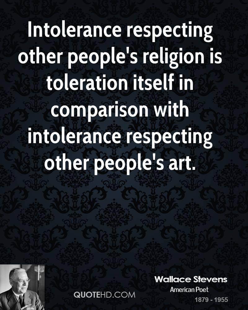 respecting others religions essay I think it is very important to respect other peoples religions because it can create a conflicts between people, perfect examples of conflicts because of religion are the wars that go on in the world today.