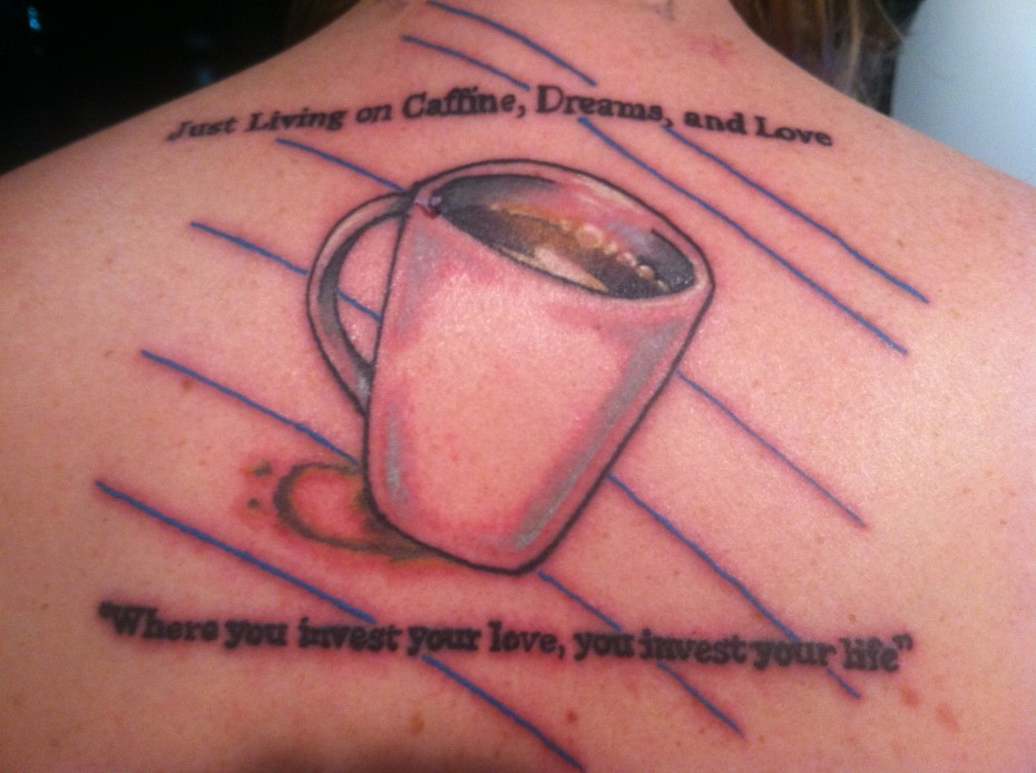 Meaningful quotes tattoos for life quotesgram for Meaningful quote tattoos