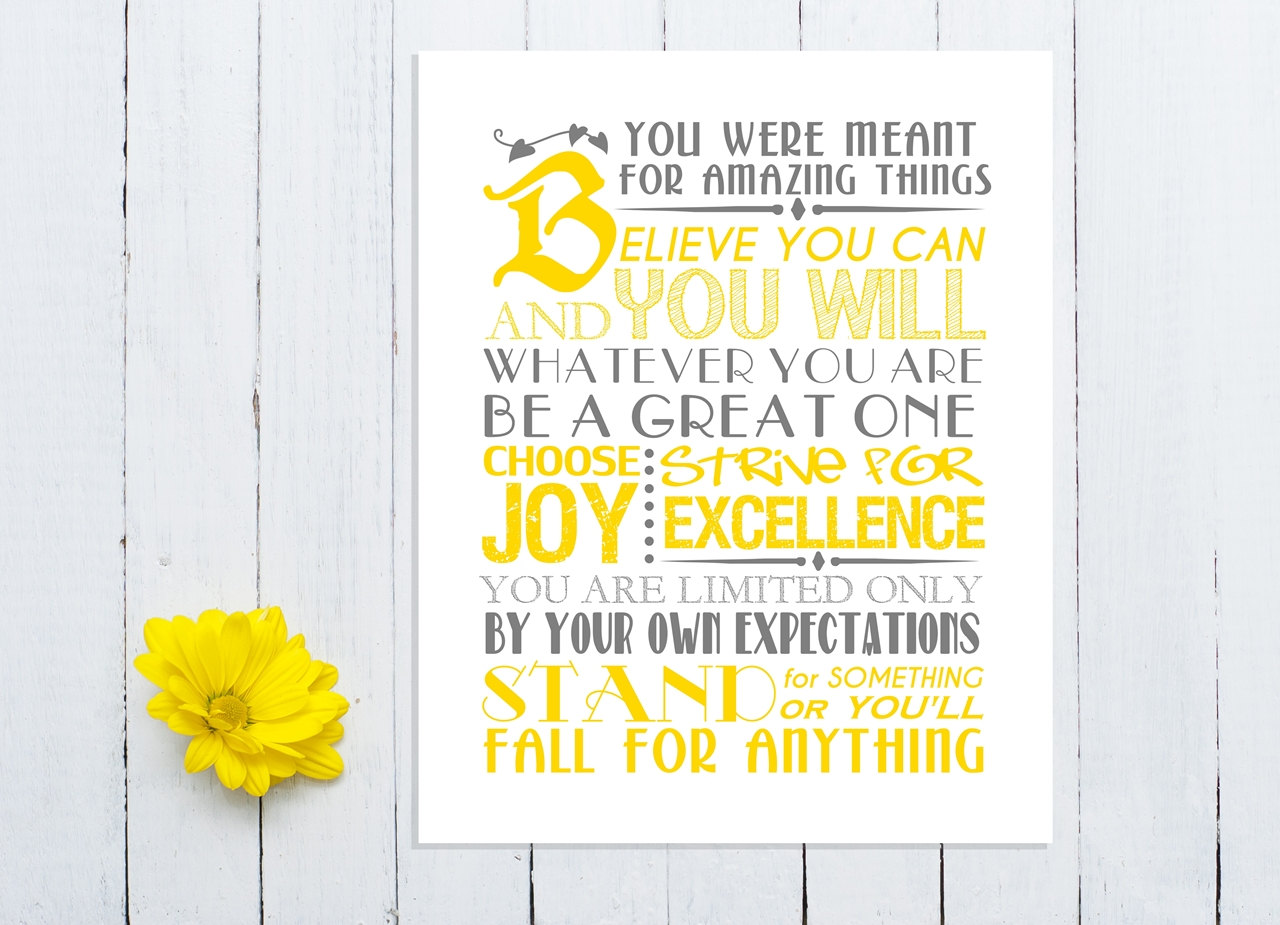 Inspirational Quotes To Print Out