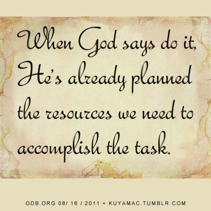 God Says Love: God Provides Quotes. QuotesGram