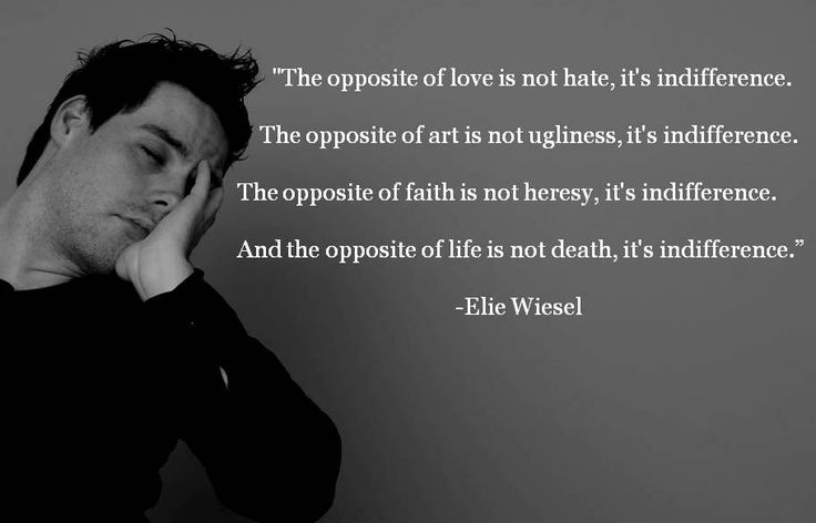 Famous Night Quotes: Quotes On Indifference Elie Wiesel. QuotesGram