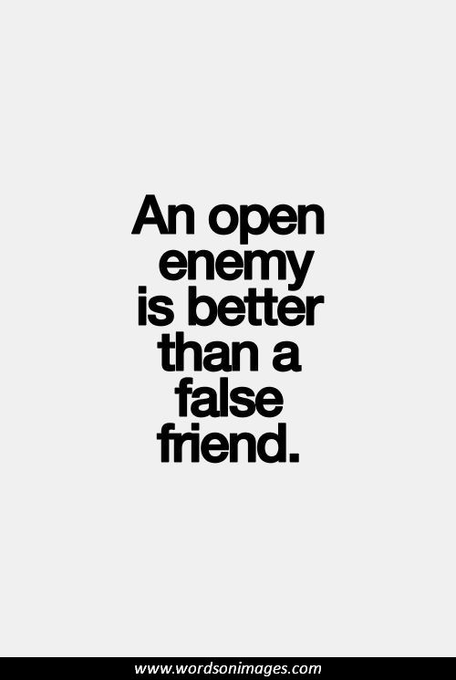 Famous Quotes About Friends And Enemies : Famous enemy quotes quotesgram