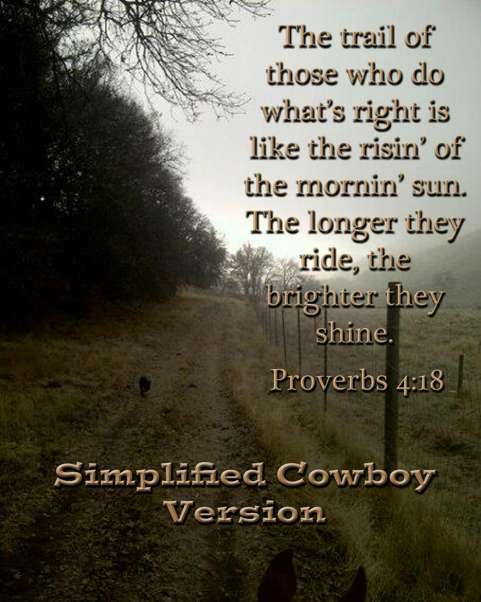 Bible Quote: Cowboy Bible Quotes. QuotesGram