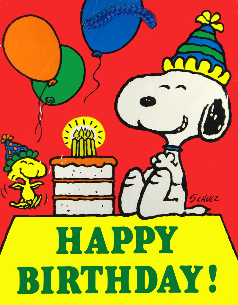 Snoopy Happy Birthday Quotes. QuotesGram