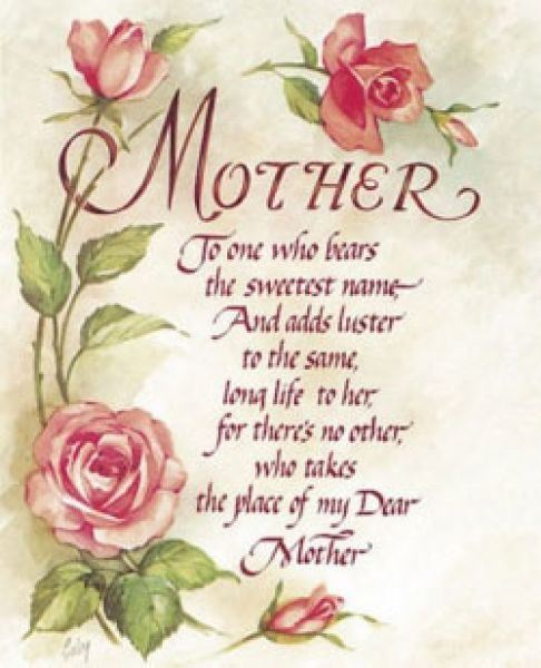 Happy Mother S Day Religious Quotes: Quotes About Mothers And Flowers. QuotesGram