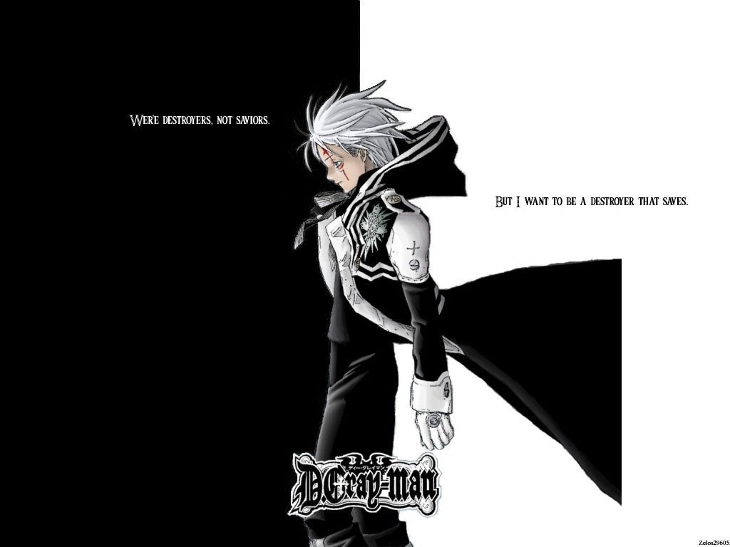 Allen Walker D Gray Man Quotes Quotesgram