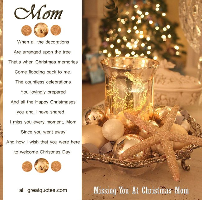Christmas Memories Quotes For Deceased. QuotesGram