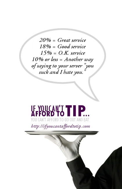 Quotes On Tipping Servers Quotesgram