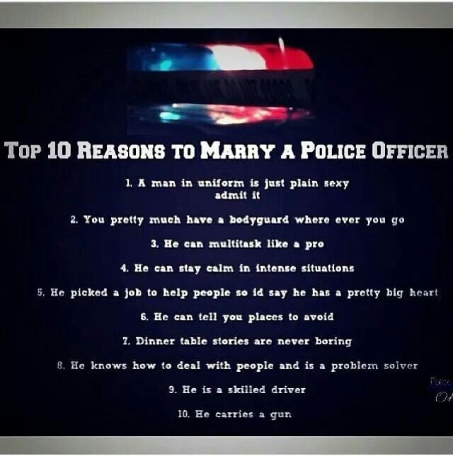 So You Want to Date a Female Cop
