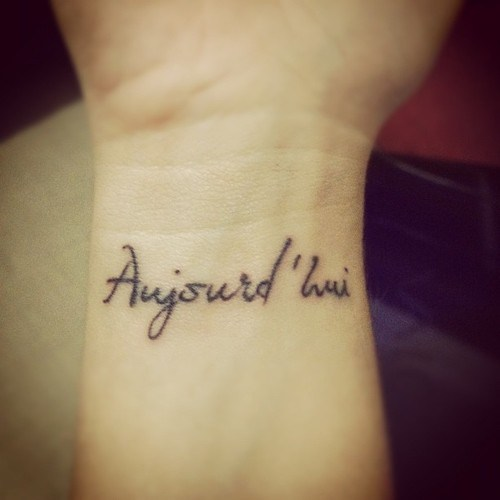 French Tattoo Quotes And Translations: Tattoos Love Quotes French. QuotesGram
