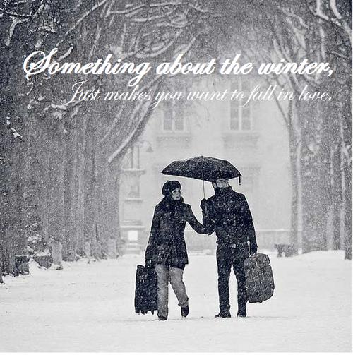 Winter Love Quotes. QuotesGram