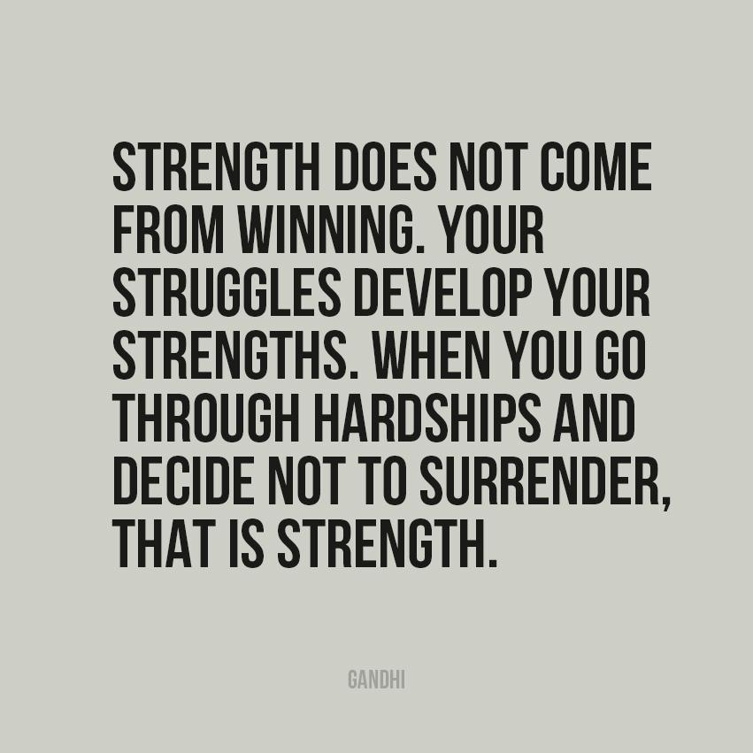 No Surrender Gandhi Quotes. QuotesGram