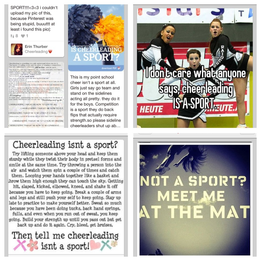 is cheerleading a sport essay example