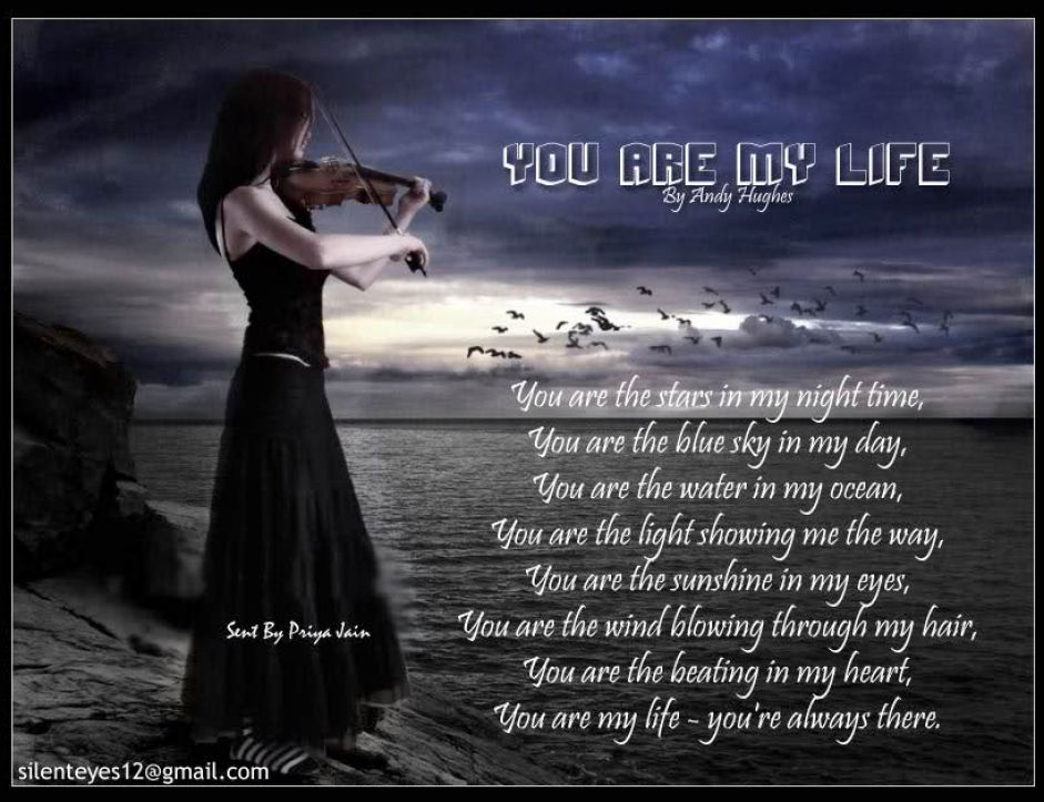 Youre My Everything Quotes Quotesgram: You Are My Life Quotes. QuotesGram