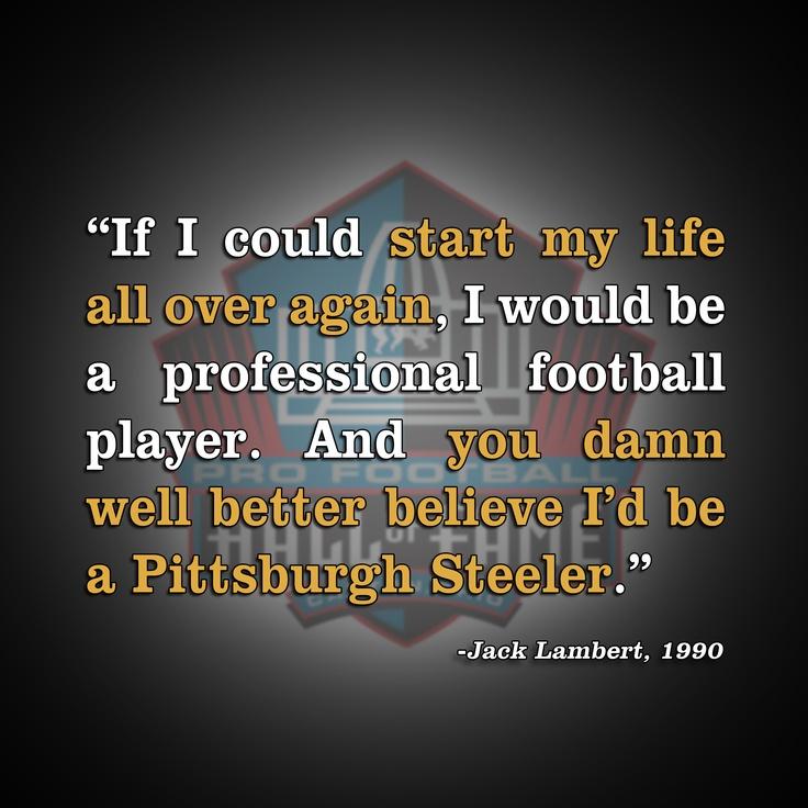 Jack Lambert Quotes Quotesgram