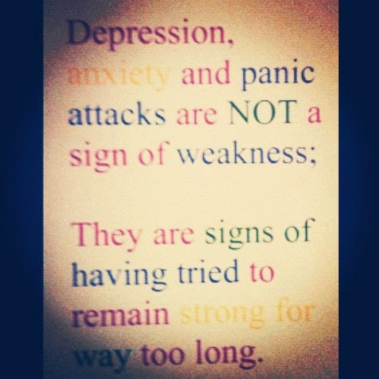 Sad Quotes About Depression: Stress And Depression Quotes. QuotesGram