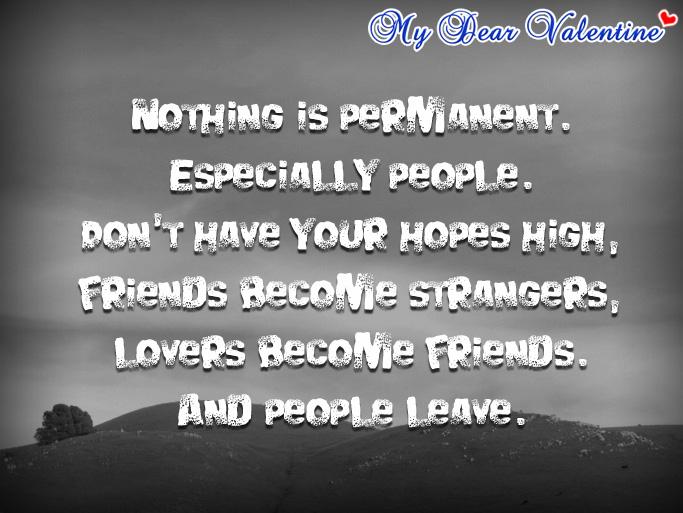Permanent Quotes Quotesgram