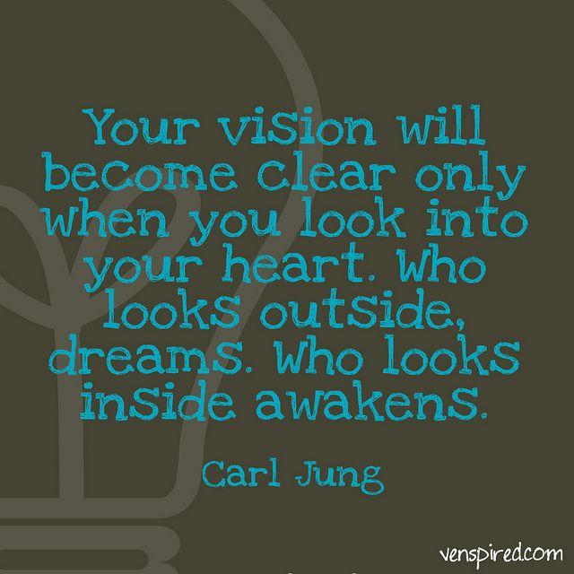 Vision Quotes: Jung Inspirational Quotes Vision. QuotesGram