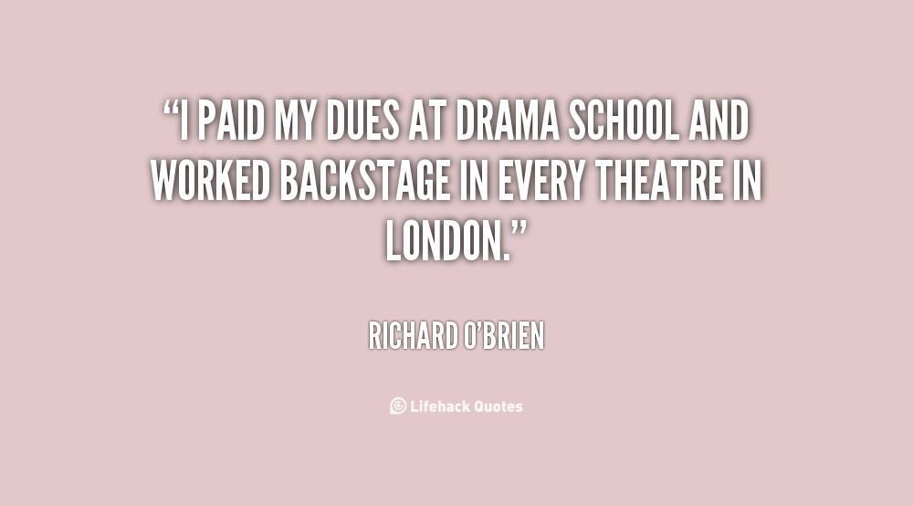 Famous Quotes About Drama. QuotesGram