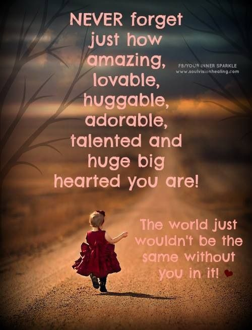 You Are An Amazing Person Quotes. QuotesGram