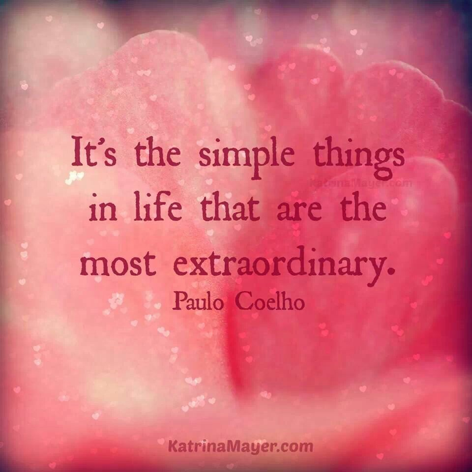 Motivational Inspirational Quotes: Quotes About Simple Things. QuotesGram