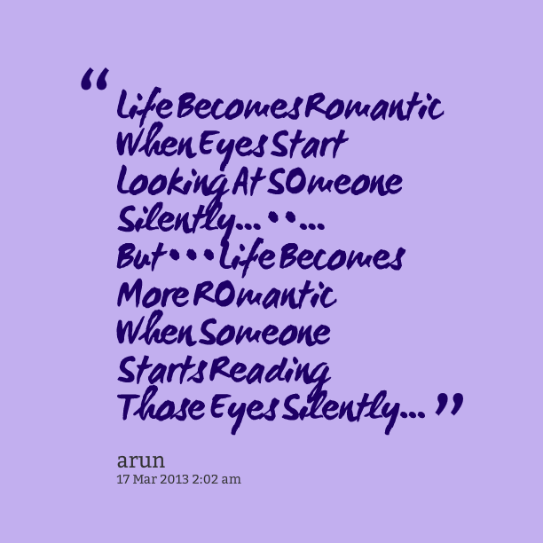 Romantic Quotes About Eyes Quotesgram
