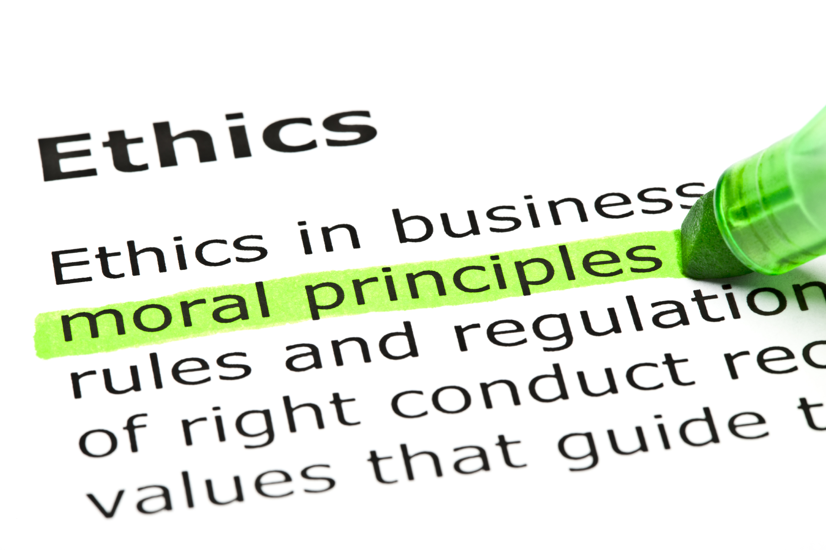 business code of ethics What business codes of ethics do business codes of ethics help define what is acceptable behavior in the workplace a code that is accepted by employees generally promotes high standards, whether in manufacturing, finance, customer service, or any other functional area of the company.