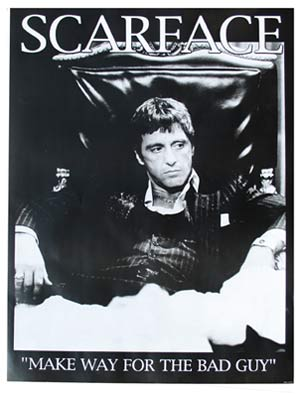 Bad Guy Scarface Quotes. QuotesGram | 300 x 394 jpeg 20kB