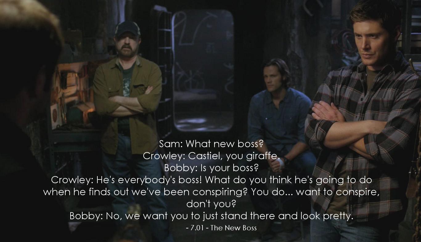Supernatural Dean Quotes. QuotesGram