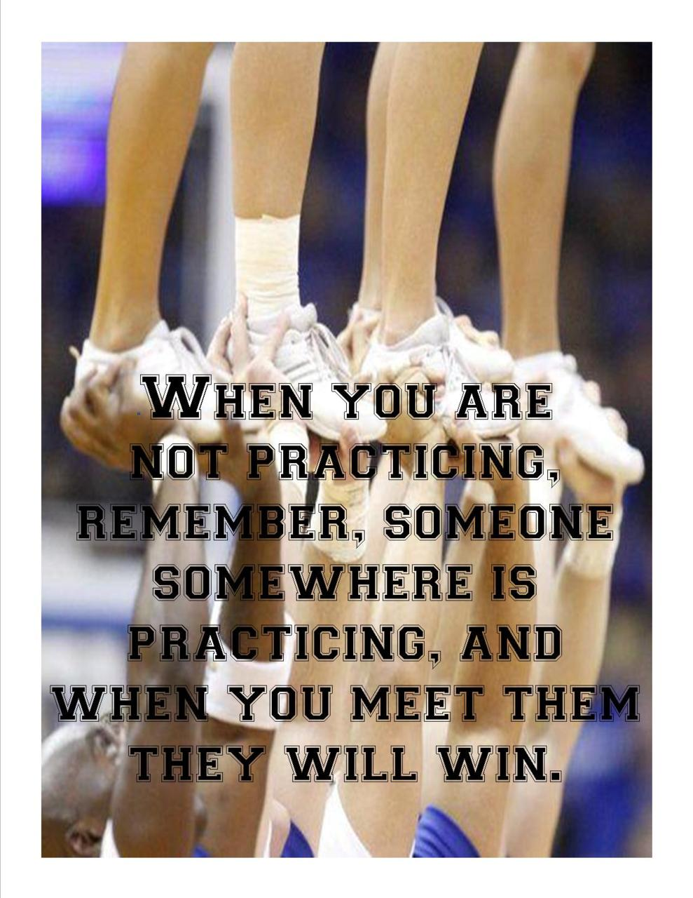 Cheerleading Team Quotes Quotesgram