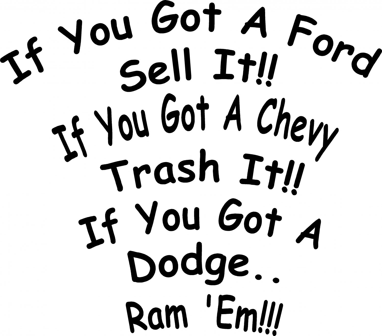 Dodge Truck Sayings And Quotes Quotesgram