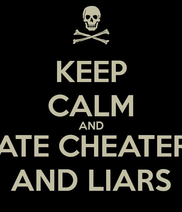 Relationship Quotes Cheaters And Liars. QuotesGram