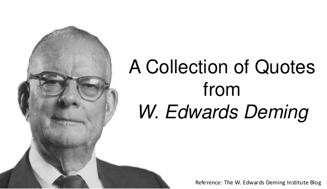 Deming Quotes On Leade...