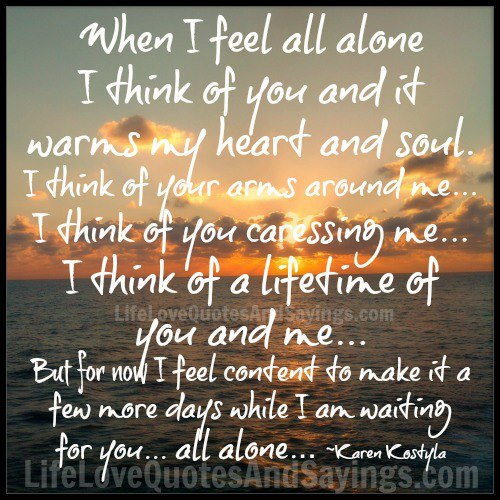 I Feel So Alone Quotes: Feeling Alone Quotes And Sayings. QuotesGram