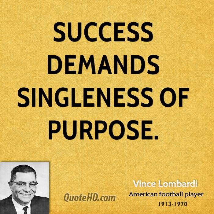 Vince Lombardi Quote: Vince Lombardi Quotes On Success. QuotesGram