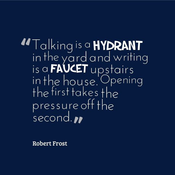 robert frost conversational style Robert frost, (1874-1963) is one of america's best loved poets  making use of  a more conversational style and taking the everyday events from his life in the.