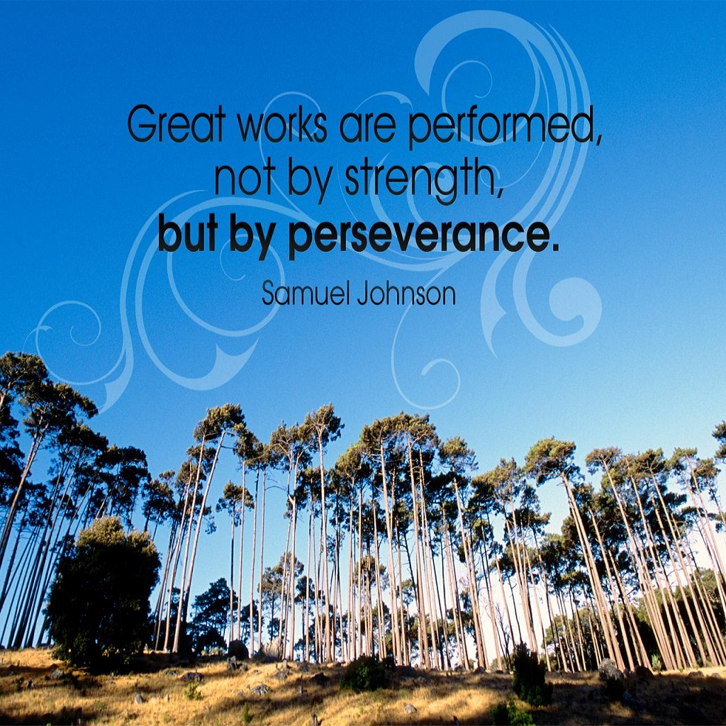 Persistence Motivational Quotes: Bible Quotes On Strength And Perseverance. QuotesGram