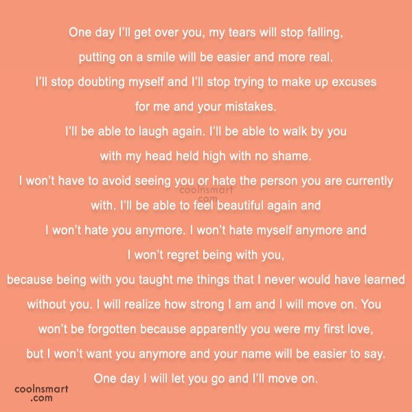 Quotes About Love Relationships: Ill Get Over You Quotes. QuotesGram