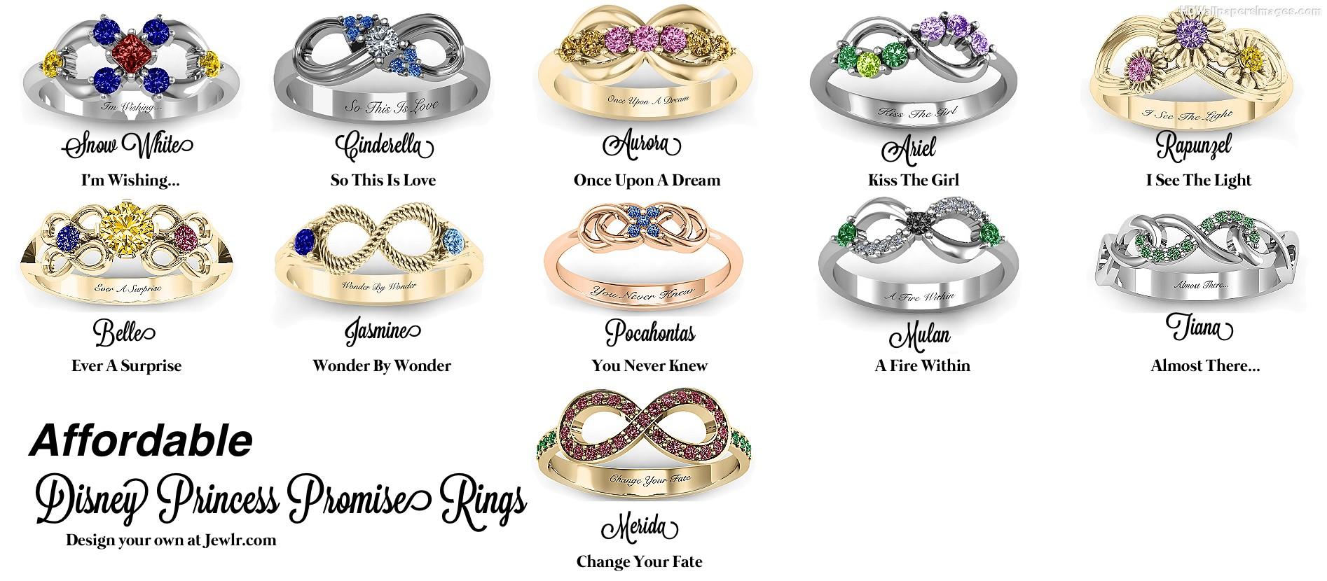 Princess Engagement Rings Disney