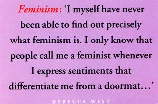 jane eyre feminism quotes Feminist criticism and literary history a feminist focus feminist criticism concentrates on: the presentation of female experience in character and action, frequently pointing out the misrepresentation of female characters by male authors,  the female voice in jane eyre.