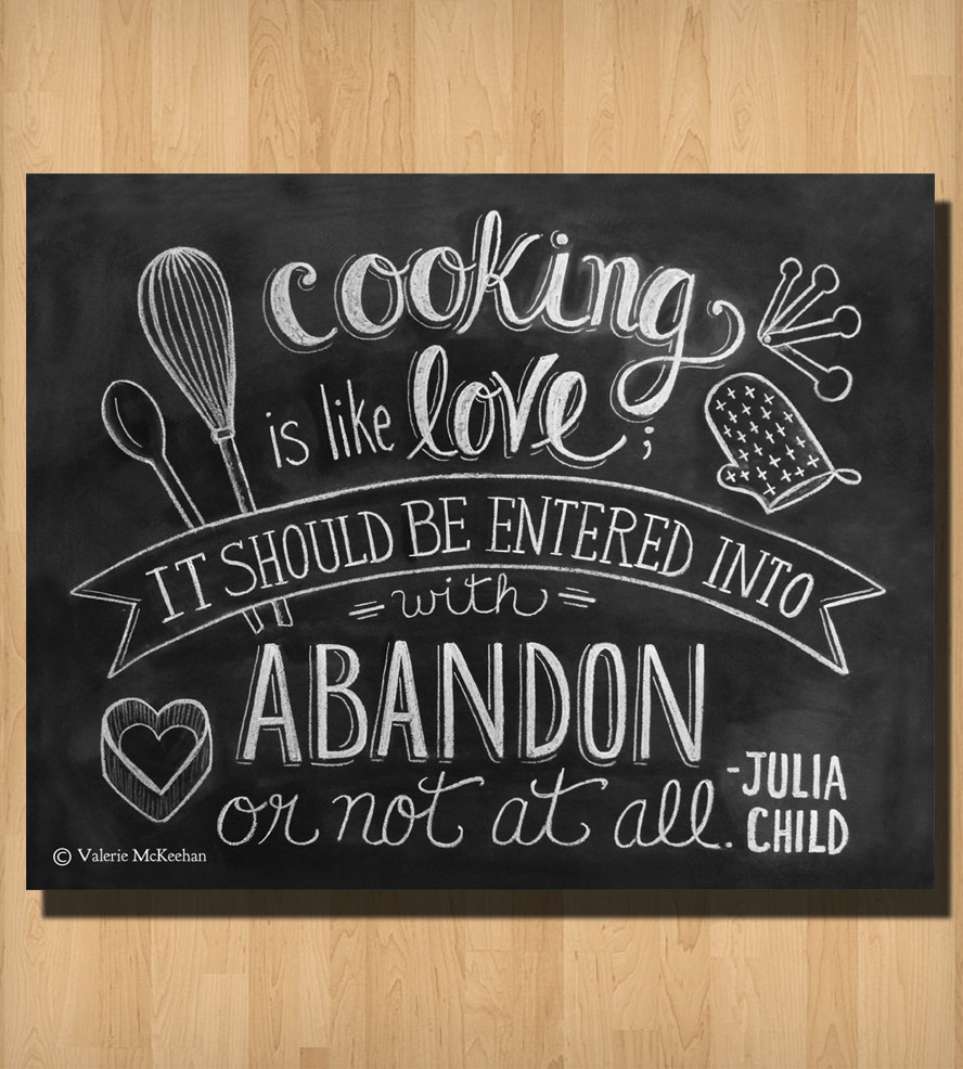 Cooking Chalkboard Quotes. QuotesGram