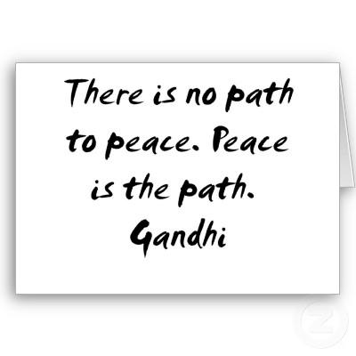 gandhi peace quotes quotesgram